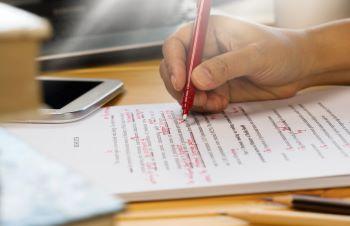 Copy Editing Manuscript