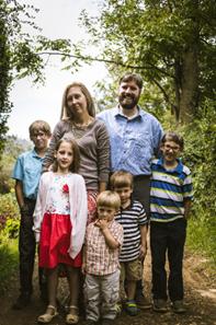 Luke, Amanda, Caden, Reuben, Aniah, Eli and Tobias McAuley