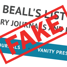 Fake Beall's List