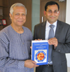 Dr. Khan Meets with Nobel Laureate Muhammad Yunus