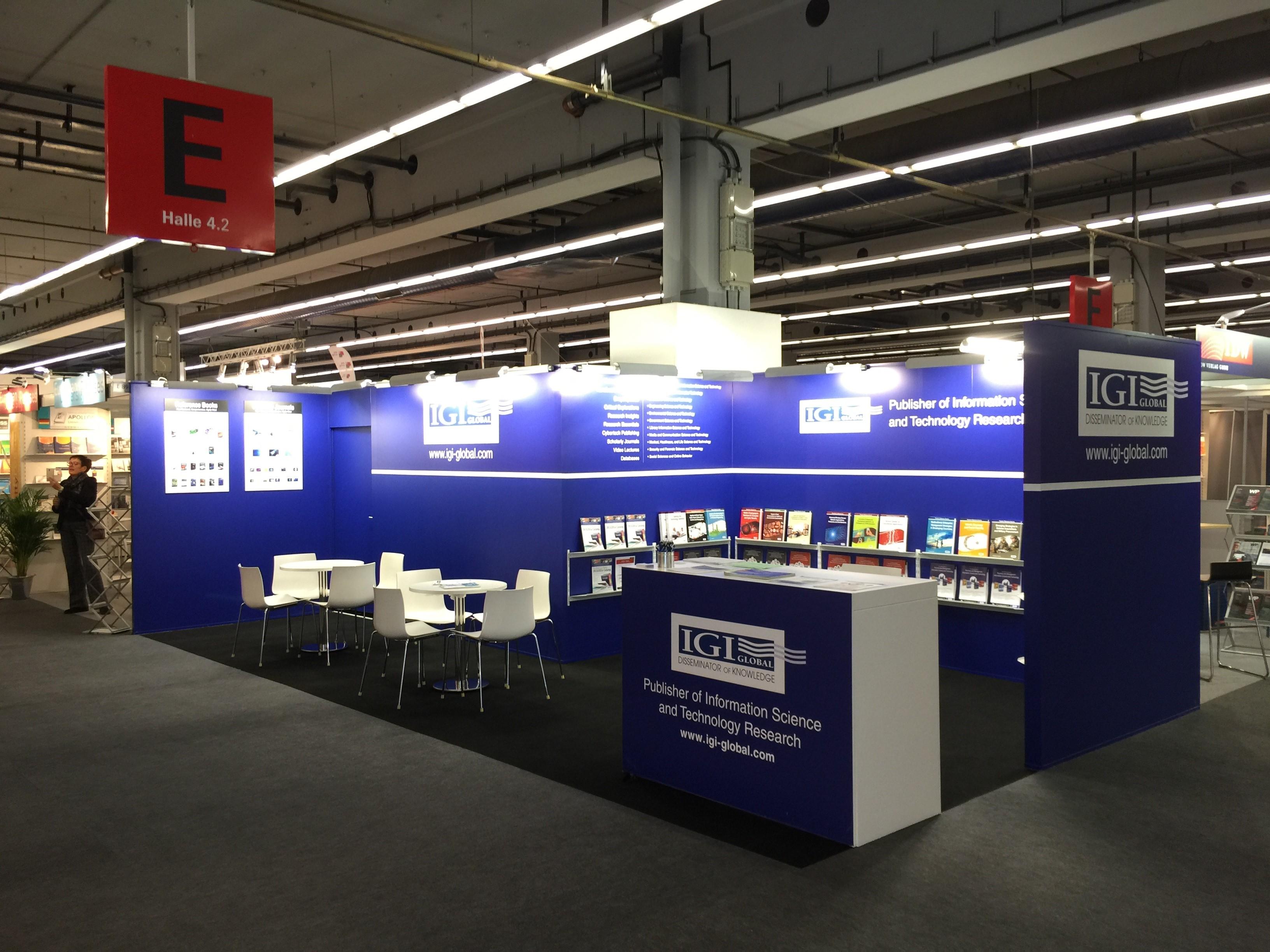 Frankfurt Book Fair Stand